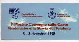 Telecom - Folder Con Scheda Telefonica Usata - (Vedi Foto) - Materiale
