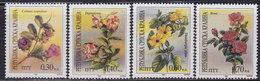Croatia Republic Of Serbian Krajina 1994 Flowers - Climbing Plants, MNH (**) Michel 26-29 - Croatie