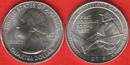 "USA Quarter (1/4 Dollar) 2016 P Mint ""Cumberland Gap"" UNC - 2010-...: National Parks"