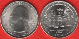 "USA Quarter (1/4 Dollar) 2016 P Mint ""Harpers Ferry"" UNC - 2010-...: National Parks"