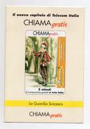 Telecom - Chiama Gratis - Folder Vuoto Per Tessera Telefonica - (Vedi Foto) - Schede Telefoniche