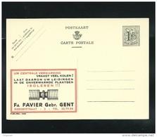 Publibel Neuve N° 1206 ( Isoleren !!!  Favier à Gent) - Enteros Postales