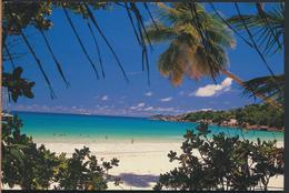 °°° 3985 - SEYCHELLES - ANSE LAZIO , PRASLIN - 1991 With Stamps °°° - Seychelles