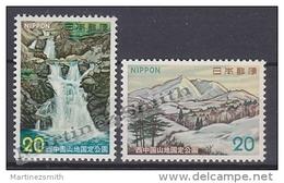 Japan - Japon 1973 Yvert 1087-88, National Park Of Nishi Chugoku Sanchi - MNH - 1926-89 Emperador Hirohito (Era Showa)