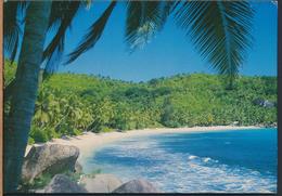 °°° 3986 - SEYCHELLES - ANSE TAKAMAKA , MAHE - 1992 With Stamps °°° - Seychelles