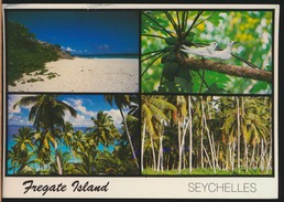 °°° 3987 - SEYCHELLES - FREGATE ISLAND - 1992 With Stamps °°° - Seychelles
