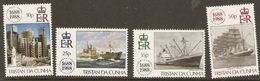 Tristan Da Cunha 1988 SG 457-60 Lloyds Of London Unmounted Mint - Tristan Da Cunha
