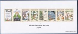 France Bloc Feuillet ND Gommé N° 2958/63 Jean De La Fontaine - Neuf **  - Superbe - Sheetlets