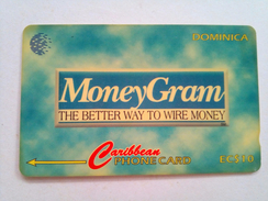 Dominica Phonecard 203CDMA EC$10 Moneygram