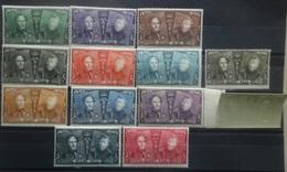 BELGIE  1925   Nr. 221 - 233      Postfris **    ( Enkel Nr. 231 Met Gomfout)        CW  275,00 - Belgique
