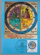 ALLEMAGNE  Carte Maxi   1982 Calendrier Gregorien - Zonder Classificatie