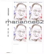 """France 2017 TP*4 Coin Daté """" MAURICE FAURE 1922 - 2014  """" 01.12.16 TD201 4890090 - Coins Datés"""