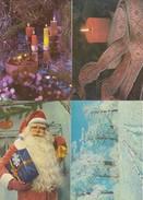 GOOD ESTONIA Four Postcards 1979/83 - Happy New Year - Estonia