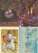 GOOD ESTONIA Four Postcards 1979/85 - Happy New Year - Estonia