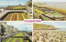 Folkestone, Multi View, Beach And Pool (pk34510) - Folkestone