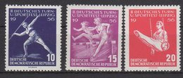 DDR / Deutsches Turn- Und Sportfest. Leipzig / MiNr. 531-533 - [6] République Démocratique