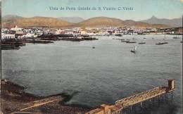 CAP VERT / Visto Do Porto Grande De S. Vicente - Cap Vert