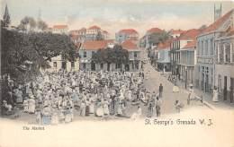CARAIBES / Grenada - St Georges's - Market - Grenada