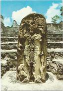 V984 Guatemala - Tikal Peten - Dios Del Maiz / Non Viaggiata - Guatemala