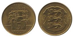 Estonia / 1994 / 5 Krooni / KM: 30 / AUNC - Estonia