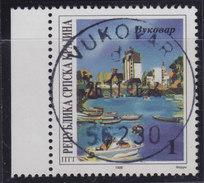 Croatia Republic Of Serbian Krajina 1996 Danube - River Of Cooperation, Vukovar, Used (o) Michel 50 - Croatie