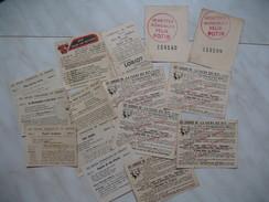 """Publicité Pour Le : Bonbons Et Chocolat Loriot, Chocolat Poulain """" , Felix Potin, La Vache Qui Rit - Publicités"""