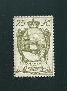 N° 30 Petite église à Steg  Timbre Liechtenstein (1920) Oblitéré