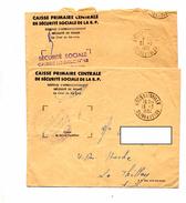 Lettre Franchise Cachet Goussainville - Manual Postmarks