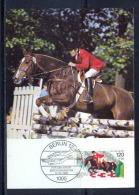 Allemagne (germany) - Carte Maximum (card) 2116 - SPORT EQUITATION