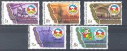 Burundi - 954/958 - Communauté Economique - 1987 - MNH - 1980-89: Neufs