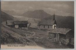 Belalp Et Glacier D'Aletsch - Photo: Louis Burgy No. 4764 - VS Valais