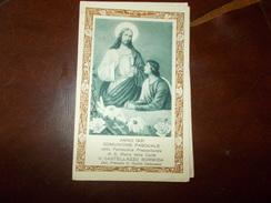 B659 Santino Comunione Pasquale 1931 Castellazzo Bormida - Images Religieuses