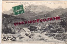 04 - BARCELONNETTE - TORRENT DE GAUDEISSART ET VILLAS - 1910 - Barcelonnetta