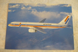 AIRLINE ISSUE / CARTE COMPAGNIE     AIR HOLLAND   B 757 - 1946-....: Moderne