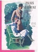 D37.TOURS. PALAIS DU VÊTEMENT RUE NATIONALE.CATALOGUE DE VETEMENTS. 1939. - Vieux Papiers