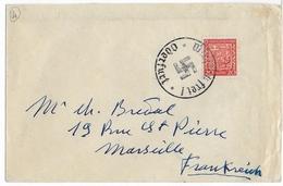 ANNEXION Des SUDETES - 1938 - ENVELOPPE Avec TIMBRE TCHECOSLOVAQUE + OBLITERATION ALLEMANDE De ODERFURT - Germany