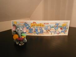 KINDER 1995 LES ELEPHANTOS EMILE SHAKE + BPZ - Monoblocs
