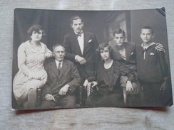 D149369  Family Photo  Mosonmagyarovar  1929   Real Photo  -fashion - Fotografia