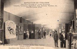 V8045 Cpa 32 Exposition De Toulouse - Pavillon Des Beaux Arts, Vue Intérieure - Toulouse