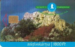 Hungary Phonecard With National Park, Owl - Uilen