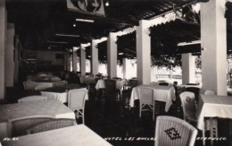 Mexico Acapulco Hotel Las Anclas Patio Dining Real Photo