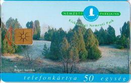 Hungary Phonecard With National Park, Bird - Birds