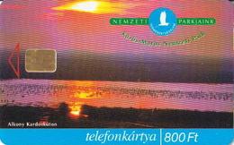 Hungary Phonecard With National Park, Flower - Bloemen