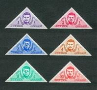 GIORDANIA 1964 - J, F. Kennedy - MNH - Mi:JO 453A-458A - Giordania