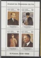 Chypre Turc 1988 Ataturk - Famous People