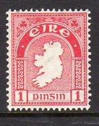 Ireland 1922-34 1d Definitive, Wmk. SE, MNH, SG 72 - 1922-37 Irish Free State