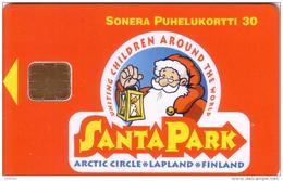 FINLANDE FINLAND PERE NOEL SANTA CLAUS NOEL CHRISTMAS SANTA PARK CERCLE ARCTIQUE ARTIC CIRCLE MINT NEUVE  30U - Noel