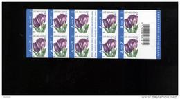 Belgie Boekje Carnet 2006 B66 3549 ANDRE BUZIN Flowers Tulip - Carnets 1953-....