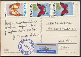 °°° 4011 - UGANDA - THE BIG FIVE - 1997 With Stamps °°° - Uganda