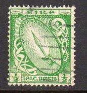 Ireland 1922-34 ½d Definitive, Wmk. SE, Used, SG 71 - 1922-37 Stato Libero D'Irlanda
